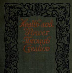 Health and power through creation